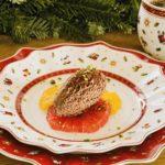 Mousse au Chocolat with Citrus Fruits
