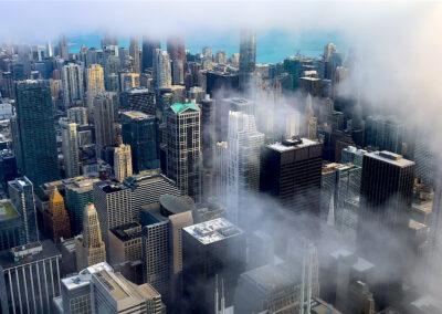 Chicago_Alto do Skydeck na Willis Tower
