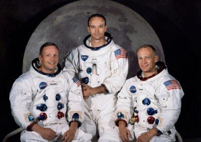 Houston_Tripulação da Apollo 11