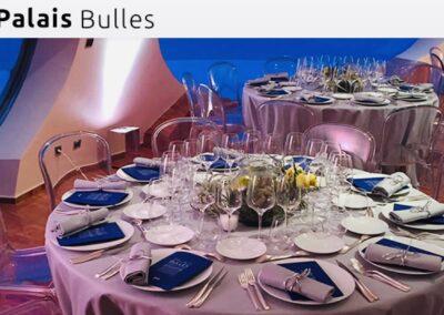 Le Palais Bulles
