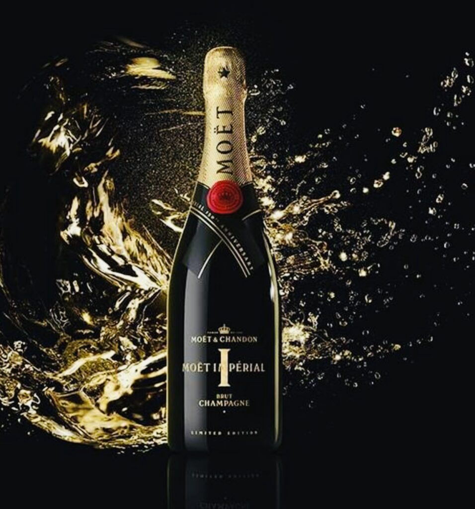 Moët & Chandon celebrated the 150th anniversary