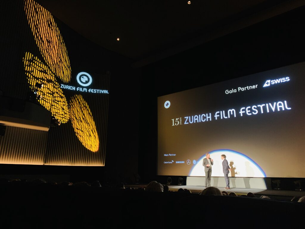 "LuxUpYourLife with the fantastic nominated film at the @zurichfilmfestival ""The Current War"" with film director Alfonso Gomez Rejon.!"